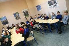 Wizyta klasy 7b w Goethe Institut