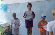 Zawody pływackie klas 1