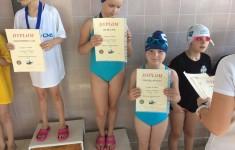 Zawody pływackie klas 2