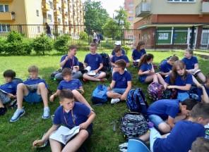 Lekcje języka polskiego w klasie 4b