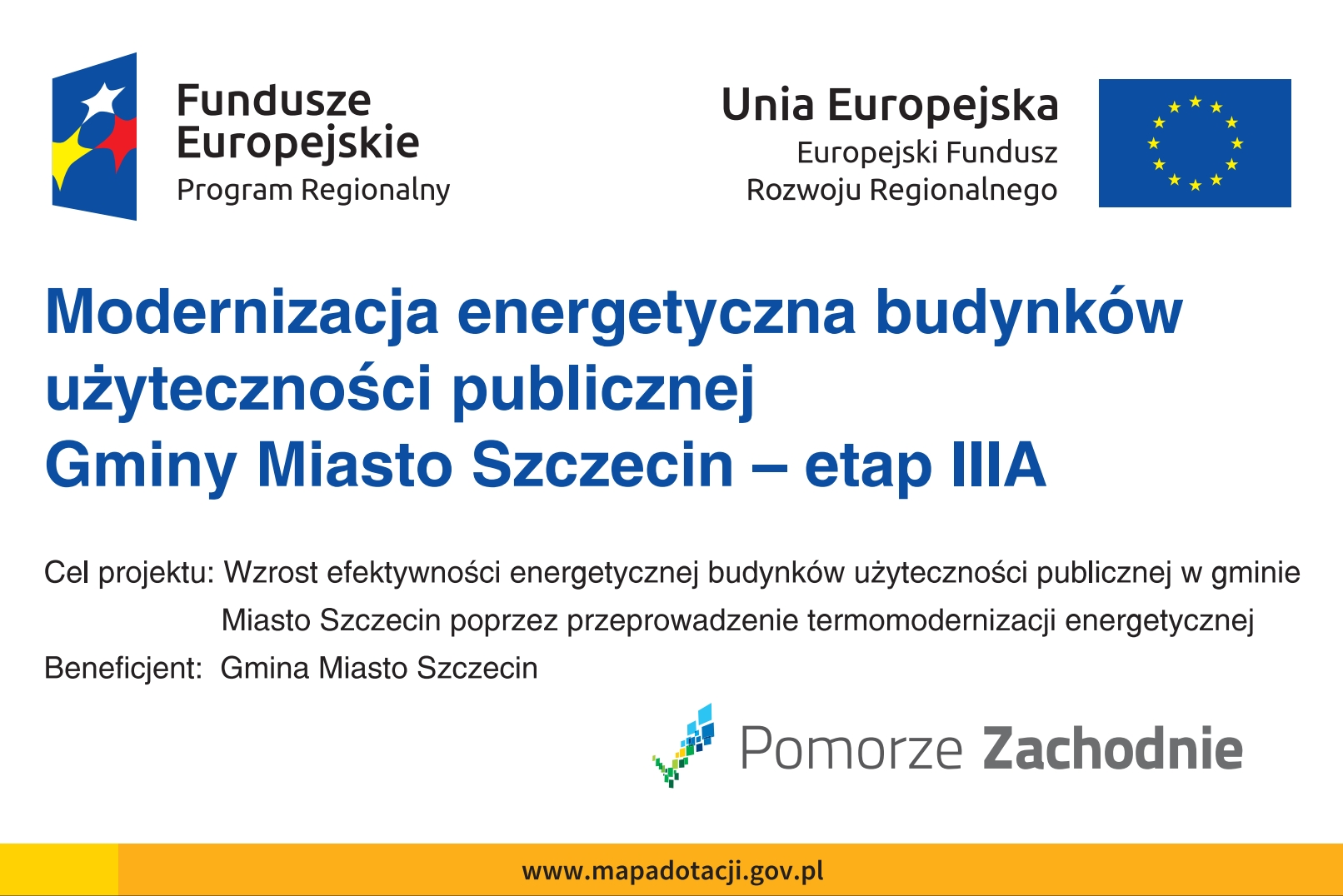 Modernizacja energetyczna budynków użyteczności publicznej Gminy Miasto Szczecin